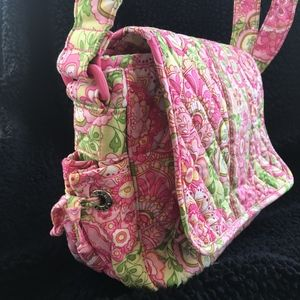 Petal Pink Handbag w/adjustable shoulder